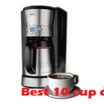Top 4 Best 10-Cup Coffee Maker Reviews 2019