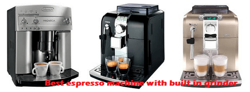 Best Espresso Machine With Built In Grinder