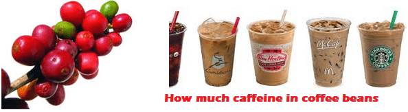 How much caffeine in coffee beans